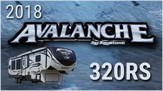 2018 Keystone Avalanche 320RS Fifth Wheel RV For Sale TerryTown RV Superstore Check out 2018 Avalanche 320RS now at or call TerryTown RV today at 616-426-6407!  This spectacular 2018 Avalanche 320RS fifth wheel from TerryTown RV will