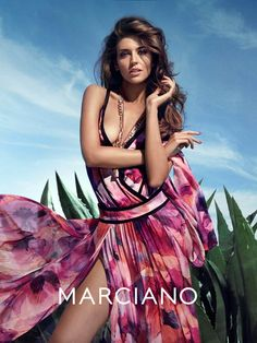 guess marciano spring 2014 campaign2 Clara Alonso & Heather Depriest Front Guess by Marciano Spring 2014 Ads by Hunter & Gatti