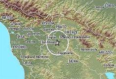 Cinquew News: Terremoto in Toscana 13 gennaio 2017, scossa di ma...