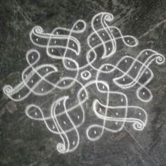 Rangoli Side Designs, Rangoli Designs Latest, Simple Rangoli Designs Images, Rangoli Patterns, Free Hand Rangoli Design, Small Rangoli Design, Rangoli Designs With Dots, Rangoli With Dots, Beautiful Rangoli Designs