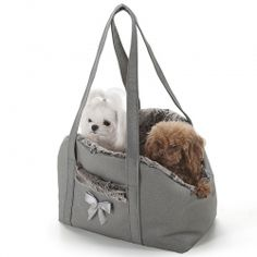 Eh Gia Bag Chique and Sportive Grey Hondendraagtas