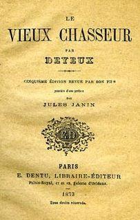 Deyeux. Le vieux chasseur. 1873
