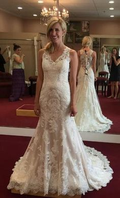 New (Un-Altered) Maggie Sottero Melanie Wedding Dress $850 USD.  Buy it PreOwned now and save on the salon price!