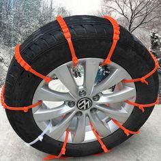 10 pcs Lot Voiture Universel Mini En Plastique Hiver Pneus roues Chaînes à Neige Pour Voitures/Suv Voiture de Coiffure Anti-Skid Autocross En Plein Air