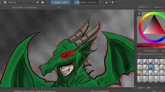 Cape Dragon Speedpaint