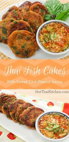 A classic recipe, these red-curry-flavoured fish cakes can be found everywhere in Thailand! The preparations are really simple, the hardest part is getting t. Thai Cooking, Asian Cooking, Cooking Recipes, Thai Street Food, Basa Fish Recipes, Seafood Recipes, Thai Appetizer, Appetizers, Fish Cutlets
