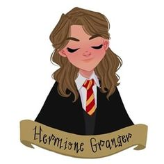 Hermine Granger - Hogwarts Yearbook by illustrator Memo Harry Potter Tumblr, Arte Do Harry Potter, Harry Potter Artwork, Images Harry Potter, Harry Potter Drawings, Harry Potter Anime, Harry Potter Wallpaper, Harry Potter Universal, Harry Potter Characters