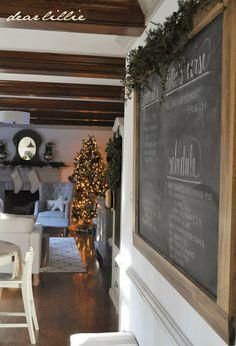 2013 Christmas House Tour by Dear Lillie