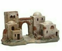 Forte Apache, Fontanini Nativity, Clay Houses, Christmas Nativity, Decorative Tile, Mixed Media Canvas, Cribs, Concept Art, Sculptures