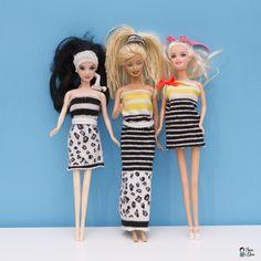 #Robes de #poupées #Barbie avec de vieuxhabits et des collants d'enfants #diyenfants #enfants #decvo #maisondepoupée #barbies #kids #jeudenfant #robesdepoupée #DIY #creation #activitefille #activitegirly #zerodechet #zerowaste #slowlife #recyclercollants #upcycling
