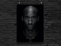 Sports Wall, Basketball Legends, Home Quotes And Sayings, Black Mamba, Wall Decor, Wall Art, Kobe Bryant, Babe, Motivational