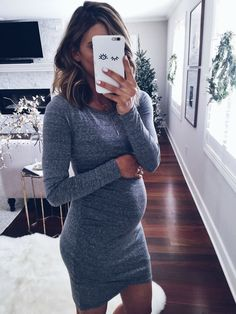 Dress (non-maternity) here Today, we are 30 weeks pregnant, I can't believe how fast this pregnancy is flying by! I… #pregnancyclothes,