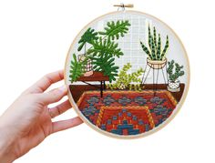 Embroidery by Sarah K. Benning