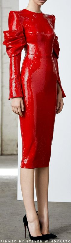 Alex Perry Fall 2019 Ready To Wear - - Source by Draped Dress, Sequin Dress, Boho Dress, Dress Up, Red Fashion, Fashion Dresses, High Fashion, Elegant Dresses, Beautiful Dresses