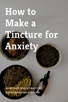 Treating common ailments for your personal care and well-being can start at home. Learn how to make a tincture for anxiety with the best healing herbs for anxiety. Learn how to make this DIY tincture here. Cold Home Remedies, Natural Home Remedies, Herbal Remedies, Health Remedies, Home Remedies For Anxiety, Anxiety Cure, Healing Herbs, Medicinal Herbs, Natural Healing