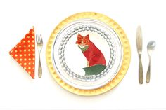 The Color Issue: My Foxy, Turkey Day Table Setting