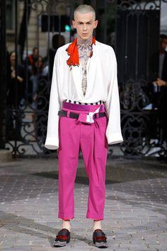 Haider Ackermann Spring 2017 Menswear Collection Photos - Vogue - PANTS