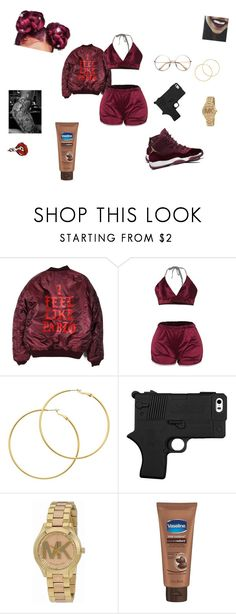 """""""SZA"""" by yfnniyalucci ❤ liked on Polyvore featuring Melissa Odabash and Michael Kors"""