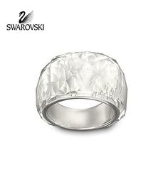 Swarovski Clear Crystal NIRVANA Petite Ring #1103226