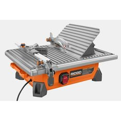 """7"""" Job-Site Wet Tile Saw with Laser"""