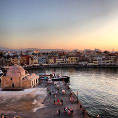 Chania Crete Crete, Places, Instagram, Lugares