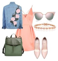 """Untitled #1859"" by velvetgirl10 ❤ liked on Polyvore featuring Topshop, Skagen, Bling Jewelry and Fendi"