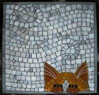 Stained glass mosaic art by Santa Barbara, CA artist, Christine Brallier. Mosaic Stepping Stones, Stone Mosaic, Mosaic Glass, Stained Glass, Glass Art, Fused Glass, Mosaic Crafts, Mosaic Projects, Mosaic Diy