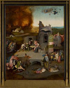 Hieronymus Bosch, As Tentações de Santo Antão (ca. 1500, Museu de Arte de São Paulo)