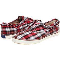 Plaid Keds Tennis Shoes!