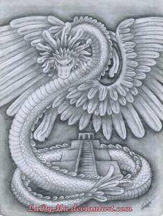 quetzalcoatl | QUETZALCOATL by LaDyMu