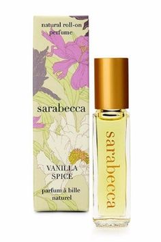 ALL NATURAL PERFUME ROLL-ON This truly natural perfume is made from pure plant essences in a base of organic oils nothing synthetic.  No animal ingredients or testing. 7.5 ml / 0.25 fl oz   Top Notes: Amber Patchouli Middle Notes: Jasmine Coriander Base Notes: Vanilla Sage Vanilla Perfume Roll-On by Sarabecca . Home & Gifts - Gifts - Scents & Bath California