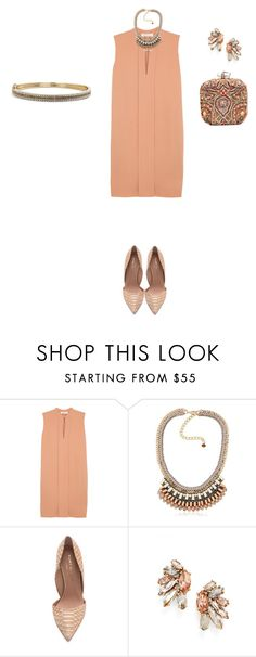 """""""Untitled #695"""" by elenekhurtsilava ❤ liked on Polyvore featuring Chloé, Nocturne, Kurt Geiger, Marchesa and Judith Jack"""