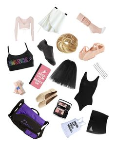 """What's in my dance bag?"" by fashionistacreeper17 ❤ liked on Polyvore"