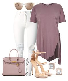 """""""Untitled #84"""" by divamanda on Polyvore featuring (+) PEOPLE, Giuseppe Zanotti, Hermès and Christian Dior"""