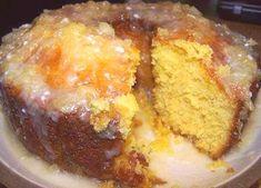 Savory magic cake with roasted peppers and tandoori - Clean Eating Snacks Pineapple Glaze, Crushed Pineapple, Macarons, Pinapple Cake, Best Cake Mix, Angel Food Cake Pan, Lemon And Coconut Cake, Glaze For Cake, Buckwheat Cake