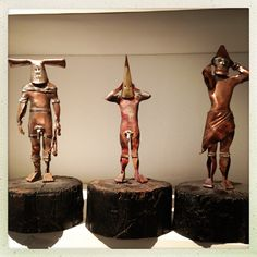 Selk'nam sculptures African Tribes, Modern City, Chile, Fairy, Symbols, Paintings, Adventure, Illustration, Ideas