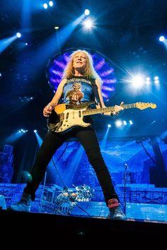 Janick Gers - Iron Maiden 2016