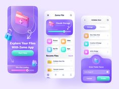 App Ui Design, Mobile App Design, User Interface Design, Minimal Web Design, App Design Inspiration, Design Ideas, Splash Screen, Web Design Projects, Apps
