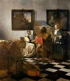 Jan Vermeer van Delft - Das Konzert