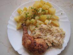 Hlavní jídla :: RECEPTY ZE ŠUMAVSKÉ VESNICE Risotto, Chicken, Meat, Ethnic Recipes, Food, Eten, Meals, Cubs, Kai