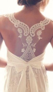 Lace back so beautiful!