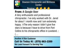 A Very enthusiastic and professional chiropractor.  I've only worked with Dr. Jarod for...