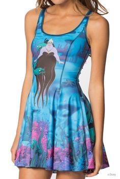 Ariel Vs Ursula Inside Out Dress - LIMITED – Black Milk Clothing