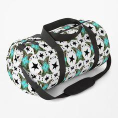 Art Bag, Star Designs, Work Travel, Zipper Pouch, Chiffon Tops, Shoulder Strap, Digital Art, Printed, Awesome