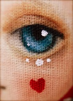 paint doll eyes