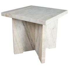 Stone Square Table by Robert Kuo, Limited Edition