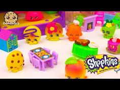 Shopkins HOLIDAY PARTY with Season 4 Petkins - Somekins has a crush? - Cookieswirlc Play Video - YouTube