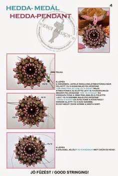Tutorial: http://ewagyongyosvilaga.blogspot.com/2011/08/hedda-medal-hedda-pendant.html Készítette: Ewa (Itt a további beje...