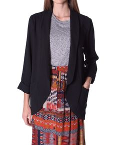 Gotta Have Updated Old School Blazer Black in Clothes | Piin | www.ShopPiin.com