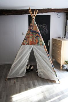 Vintage Sewing Pattern Childs WigWam Tent TeePee Reproduced
